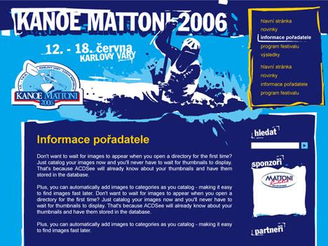 Úvodní stránka - ročník 2006